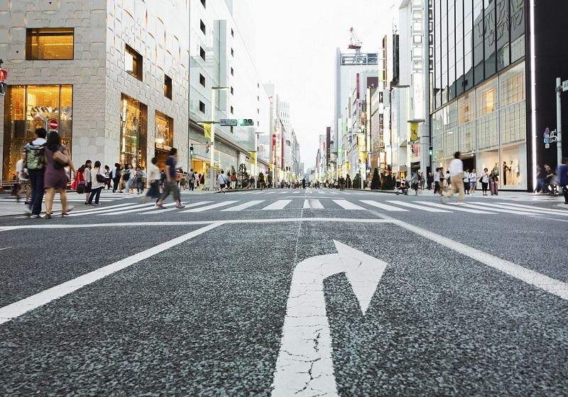路線価日本一は銀座「鳩居堂前」。公示地価日本一は「山野楽器 ...